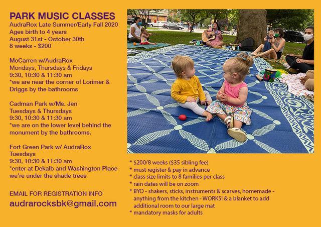 Music Class In Mccarren Park With Ms Audra Calendarkiddo